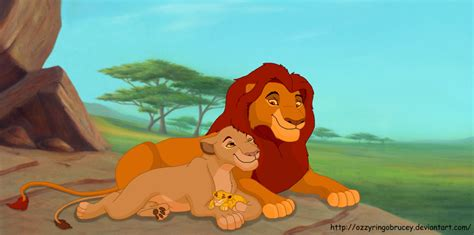 baby and mufasa sarabi and baby simba by ozzyringobrucey on