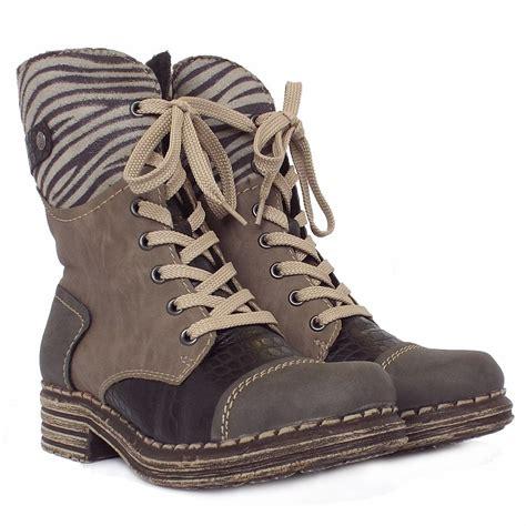 rieker sabatini y9624 46 s fashion combat winter