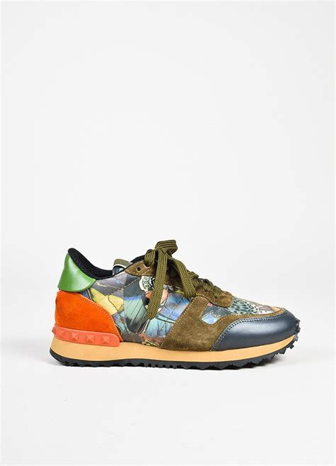 butterfly sneakers valentino garavani quot rockrunner quot multicolor butterfly