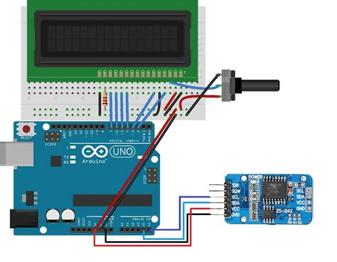 arduino code library arduino real time clock rtc and temperature monitor