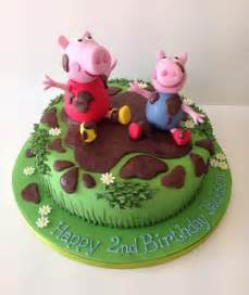 Peppa Pig Birthday Cakes   Peppa Pig Cakes   Cakes by Robin