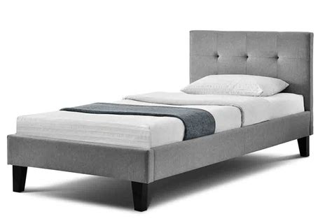 King Size Single Bed Frame Blenheim Grey Charcoal Fabric Upholstered Bed Frame Single King Size Price Beds