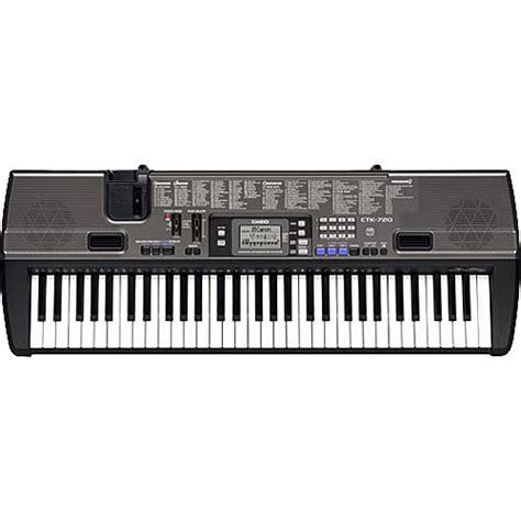 Casio Ctk 4400k2 61 Keyboard casio ctk 720 61 key portable keyboard ctk720 b h photo