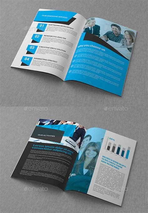 indesign bi fold brochure template 30 eye catching psd indesign brochure templates web