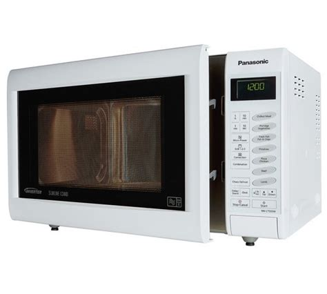 Microwave Panasonic Nn Sm209w buy panasonic 1000w combination touch microwave nn ct555w white at argos co uk your