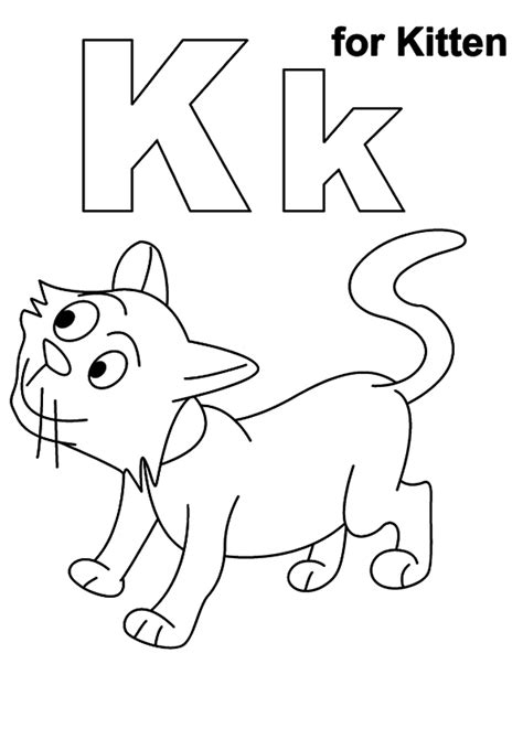 Coloring Page Kitten by Free Printable Kitten Coloring Pages For Best