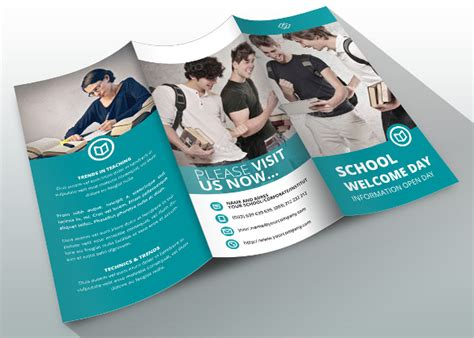 school brochures templates school brochure 22 in psd vector pdf
