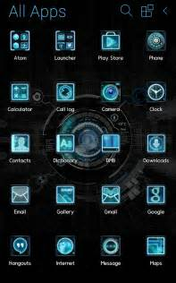 Black mechanic atom theme android apps on google play