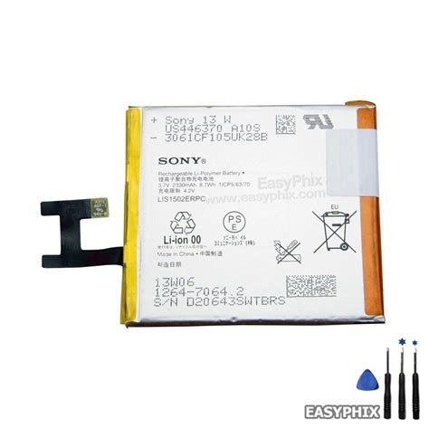 Sale Sony Xperia Z C6602 C6603 sony xperia z l36h l36i c6603 c6602 battery replacement 3