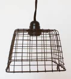 Basket Pendant Light Rustic Primitive Basket Metal Swag L Hanging Pendant Light Vintage Industrial Ebay