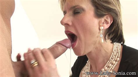 Swallowing A Big Load From My Toyboy Lady Sonia Videos
