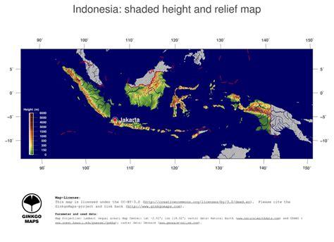 map indonesia ginkgomaps continent asia region indonesia