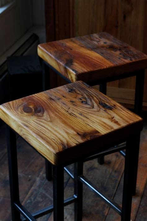 Diy Metal Bar Stool by 25 Best Ideas About Rustic Bar Stools On