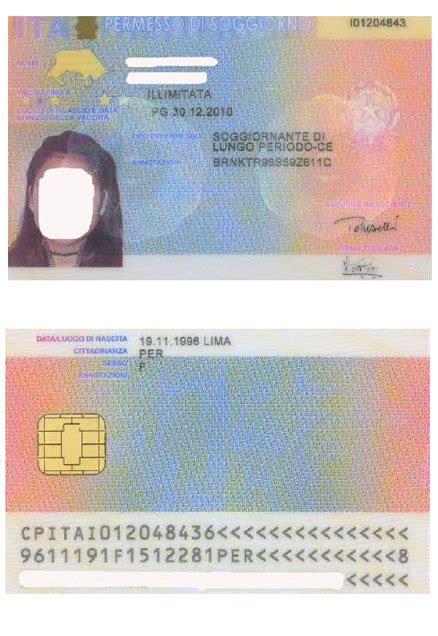 carta di soggiorno lungo periodo permesso di soggiorno ce per soggiornanti di lungo periodo