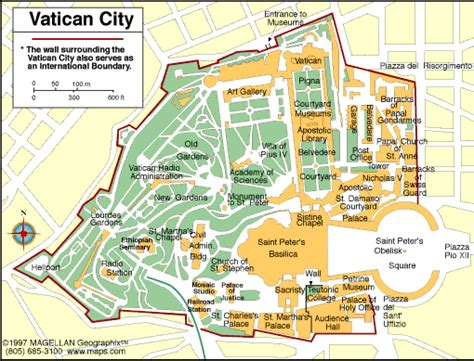 vatican city map in world map of vatican city