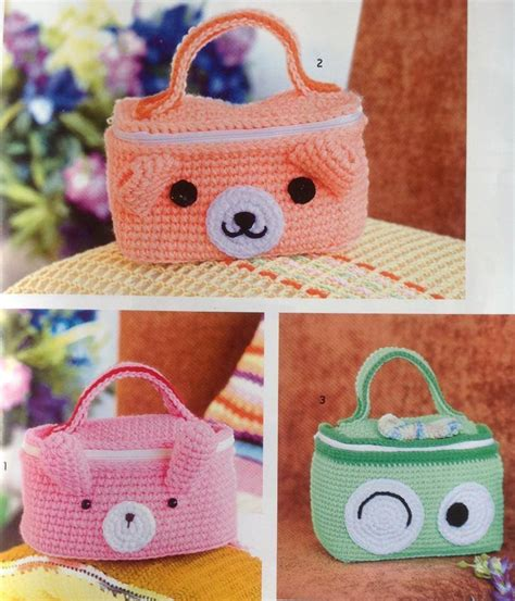 crochet animal bag pattern cute animal bag crochet crochet kingdom