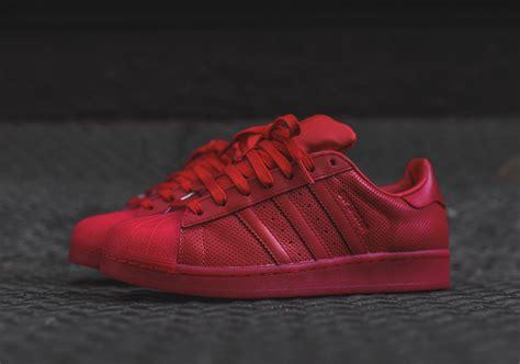 adidas superstar new year 2016 adidas originals superstar quot scarlet quot sneakernews