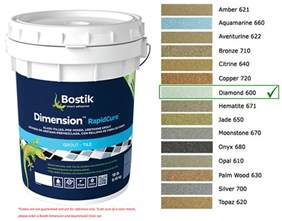 bostik grout colors bostik dimension grout 600 18 lbs starglass