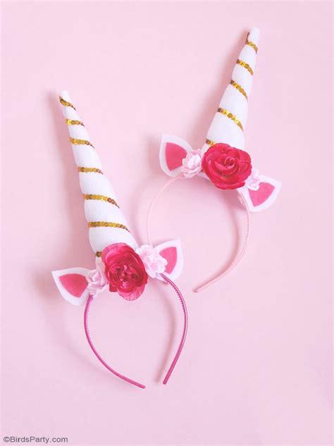 printable unicorn headband diy unicorn party headbands party ideas party printables