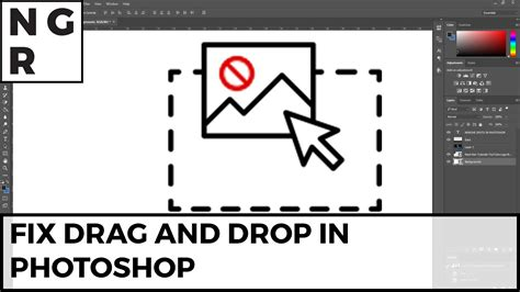 construct 2 drag and drop tutorial photoshop can t drag and drop quick fix 2 minutes all