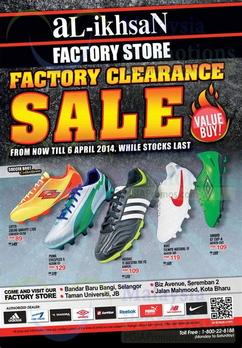 al ikhsan sports clearance sale bandar baru uda johor al ikhsan factory clearance sale factory stores 17 mar