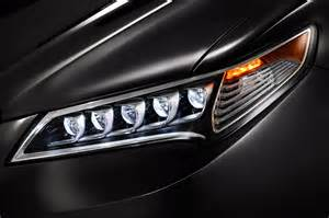 2015 acura tlx led headlight closeup photo 36