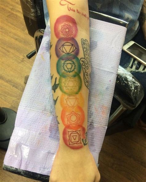 18 totally zen yoga tattoos to keep you centered chakra