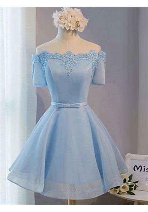 Dress Renda Baby 25 best ideas about baby blue prom dresses on