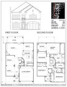 Floor Plans Two Story Homes by Gallery For Gt Simple Two Storey House Floor Plan