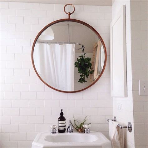 bathroom mirror round best 25 round bathroom mirror ideas on pinterest
