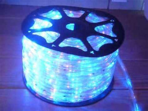 multi color chasing led rope light kit youtube