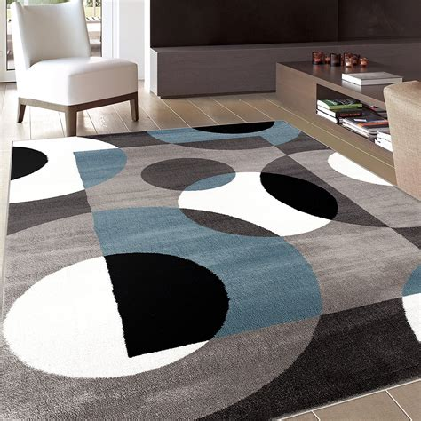 Area Rug Modern Carpet Circles Designer Rug Living Room Modern Area Rugs For Living Room