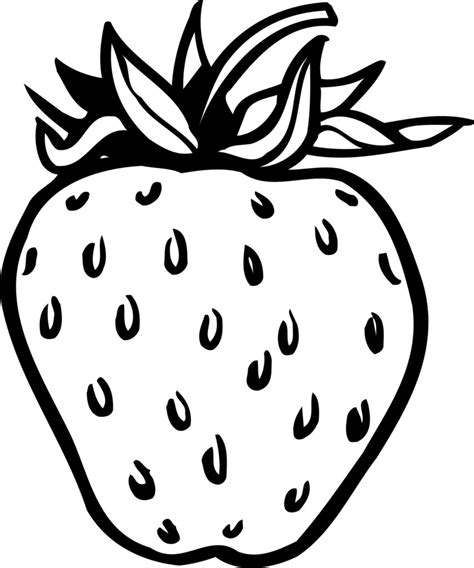 imagenes para colorear fresa imagenes de fresas para pintar e imprimir