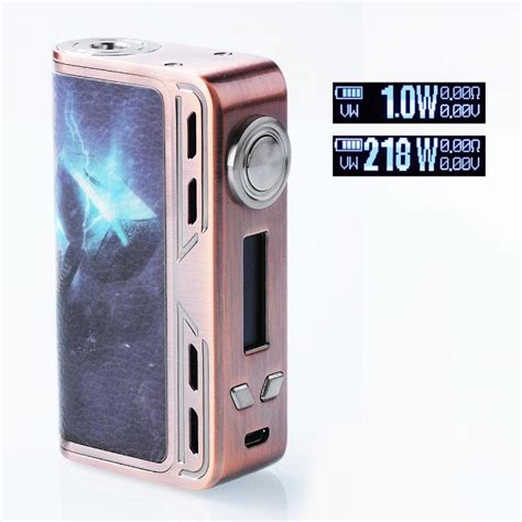 Mod Smoant Charon 218watt Authentic authentic smoant charon 218w tc vw thors hammer variable wattage mod