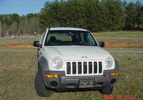 04 Jeep Liberty Limited Sell Used Jeep Liberty 04 Limited 3 7l V 6 Rwd Solid