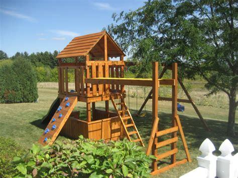 Build Children?s Playset Plans DIY PDF kids wood project