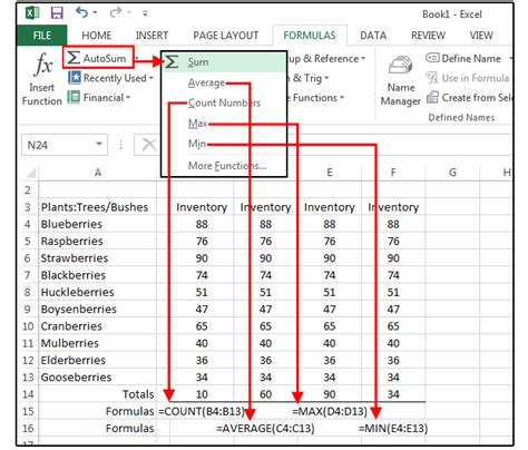 Excel Spreadsheet Calculations by Your Excel Formulas Sheet 15 Tips For Calculations