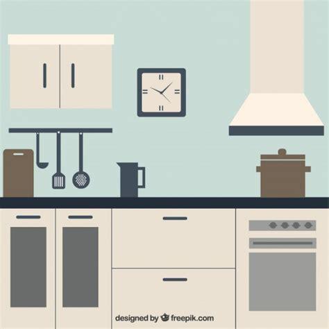 Kitchen Vector White Kitchen Vector Free