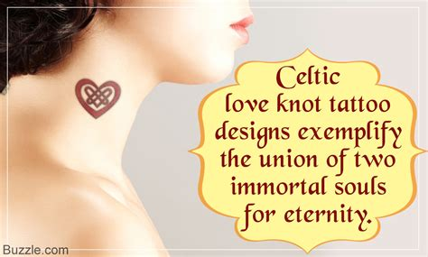 designs for celtic love knot tattoos to keep the magic alive