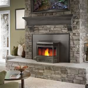 pellet stoves and pellet inserts harding the fireplace