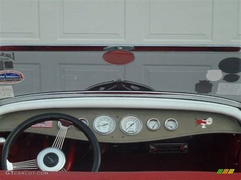 Model Home Interior Design 1932 Ford Roadster Standard Roadster Model Dashboard