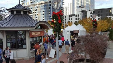 shop at charlotte christmas village will be bigger and better in year two but still no wooden huts