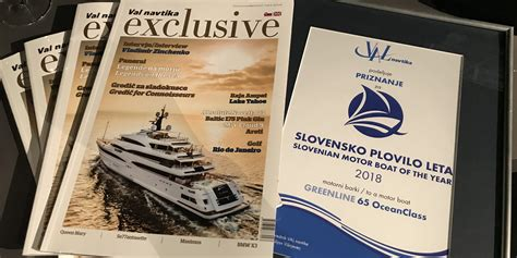 boating magazine boat of the year 2016 slovenian boat of the year award