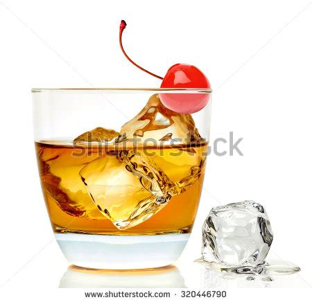 manhattan drink illustration old fashioned stock images royalty free images vectors