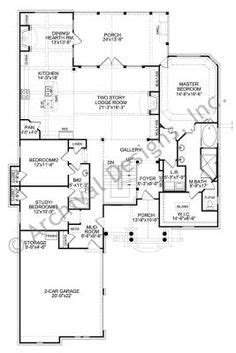 custom mountain home floor plans plan 63021hd big house feel in a narrow design narrow