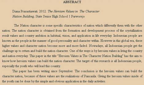 cara membuat abstrak tugas akhir contoh abstrak makalah skripsi tugas akhir karya tulis