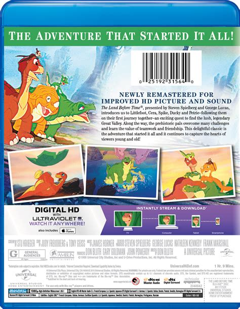 a before time the land before time page dvd digital