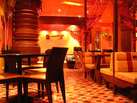 Black Dining Room Buffet by The Best Indian Restaurants In London United Kingdom