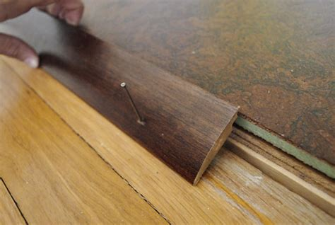 1 Inch Wood Floor Transition - how to add floor trim transitions and reducers