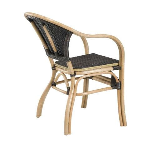 fauteuil bistrot fauteuil terrasse rotin synth 233 tique rotin design